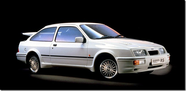 July 1986 - Deliveries Of Sierra RS Cosworth Began