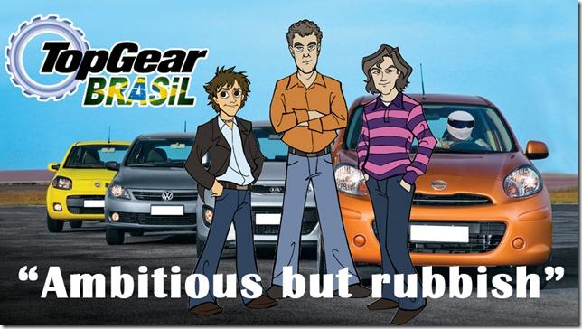 Como seria um Top Gear Brasil