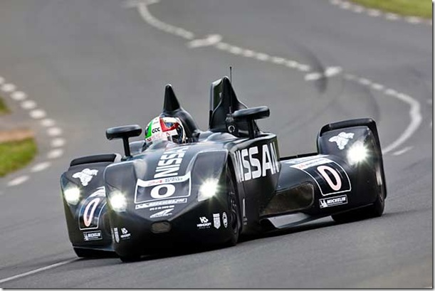 Nissan DeltaWing Shows Great Pace in Le Mans Qualifying