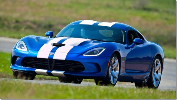 2013 SRT Viper GTS Launch Edition model at Gingerman Raceway, Sept. 6, 2012
